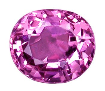 0.95 ct. Spinel, Rich Pink, Nearly Flawless/VVS1 Oval Faceted Unheated Gemstone, Burma