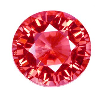 0.56 ct. Tourmaline, Pink Rose, VVS1 Round Faceted Untreated Natural Gemstone, Mozambique