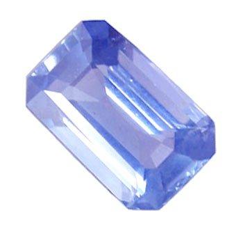 0.52 ct. Sapphire, Blue, VVS-VS Emerald Faceted Natural Sapphire, Thailand