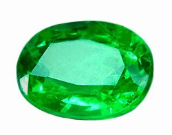 1.12 ct. Tsavorite Garnet, Electric Chrome Green, Oval Faceted Gemstone