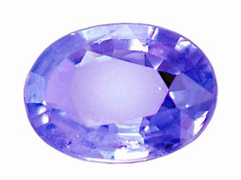 0.30 ct. Tanzanite, Bluish Violet,  Oval Faceted Natural Gemstone