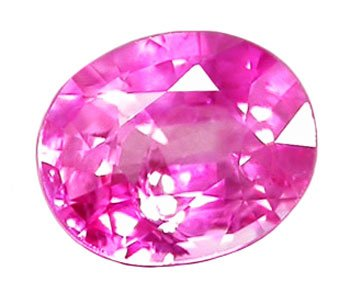 SOLD 0.54 ct. Sapphire, Intense Violet Pink, VS Oval Faceted Gemstone, Ceylon