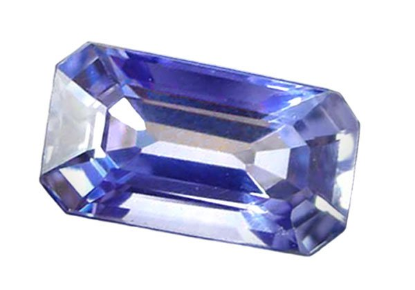0.86 ct. Sapphire, Blue, VVS Emerald Faceted Natural Gemstone, Ceylon