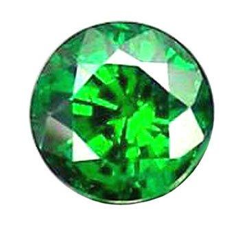 0.51 ct. Tsavorite Garnet, Chrome Green, Round Faceted Untreated Natural Gemstone