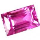0.74 ct. Sapphire, Intense Royal Pink, IF-VVS1, Ceylon