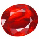 0.66 ct. Ruby, Rich Red, VVS1 Oval Faceted Gemstone SALE