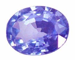 0.27 ct. Tanzanite, Blue/Violet, VVS, Oval Faceted Natural Gemstone