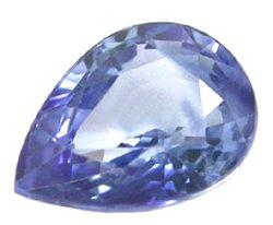 SOLD 0.90 ct. Sapphire, VVS, 7x5 mm, Blue, Pear (Tear Drop) Faceted Natural Gemstone, Ceylon