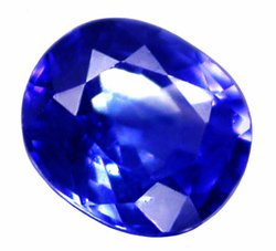 SOLD 0.36 ct. Sapphire, IF-VVS, Rich Royal Blue Oval Faceted Natural Gemstone, Ceylon