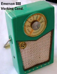 Emerson Model 888 Transistor Radio