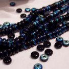 JET A.B. Czech 4mm Rondell Beads 100pcs