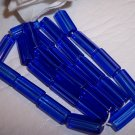ATLAS 5-sided glass bead MED. BLUE