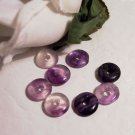 RAINBOW FLUORITE Donut Bead 10mm 4pk