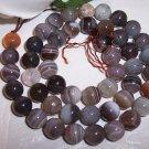 BOTSWANA AGATE 8 mm Round Beads