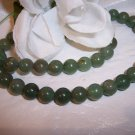 "AVENTURINE (green) 15"" strand 8mm"