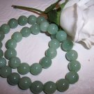 AVENTURINE (green) 11-12mm round beads