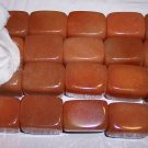 AVENTURINE (peach) Lg Rectangle Beads