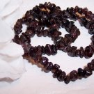 "GARNET Chips 5-7mm 17"" Strand GORGEOUS!!"