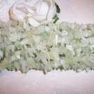 "JADE !! NEW JADE Chips 36"" strand"
