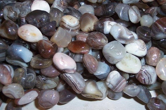 BOTSWANA AGATE Tumbled Nuggets