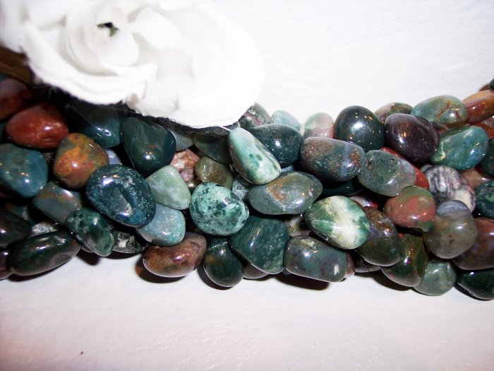 FANCY JASPER Tumbled Nuggets
