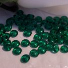 EMERALD GREEN Czech 4mm Rondell Beads  100pcs