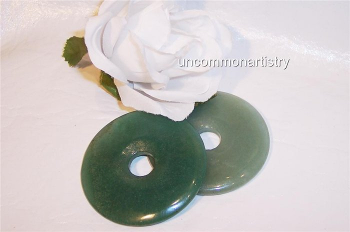 AVENTURINE Donut Bead 50mm