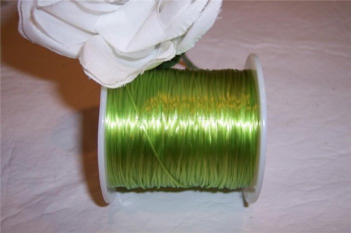 ELASTIC CORD 30meters LIGHT GREEN