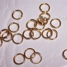 SPLIT RINGS  6mm GOLD PLATED q.100