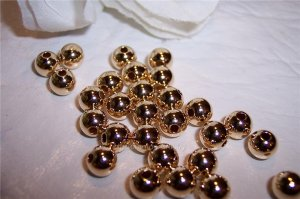6mm Round Beads GOLD FILLED q.10