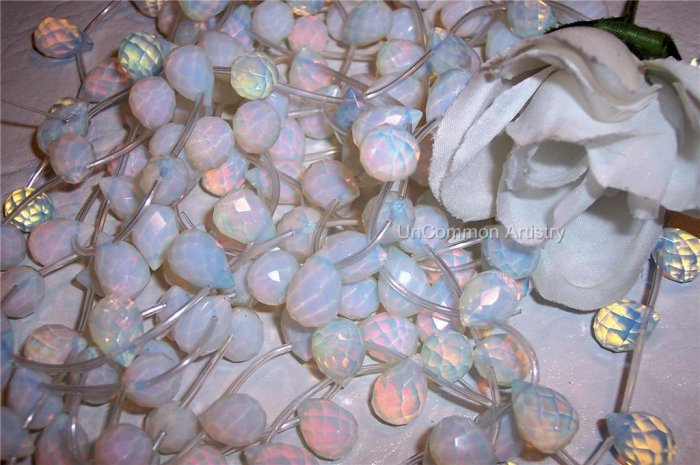 OPALITE Faceted BRIOLETTES 15x20