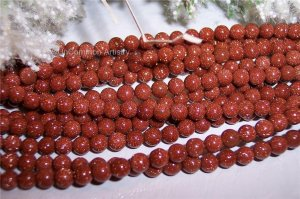 GORGEOUS! Goldstone!! 8mm Round Beads