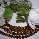 "ROARING!! TIGER EYE 8mm ROUND Beads 16"" Strand"