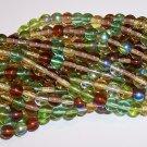 EARTH TONE MIX Czech DRUK  4mm Beads 100