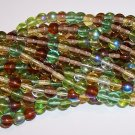 EARTH TONE MIX Czech DRUK  6mm Beads 50
