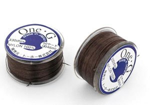 ToHo ONE-G Nylon Thread BROWN 50 yards