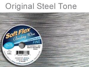 Soft Flex 19 Strand Best Beading Wire .014 Inch 30 Ft.