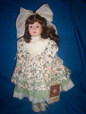 "CAYALA 16"" PORCELAIN DYNASTY DOLL ~ COMPLETE WITH BOX"