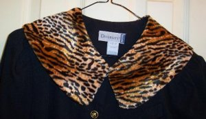 TIGER FAUX FUR COLLAR ~ ONE SIZE FITS ALL