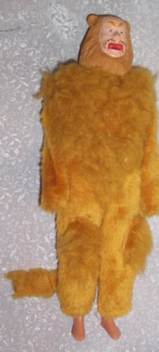 COWARDLY LION DOLL MADE BY TOY TIME