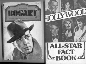 TWO OLD HOLLYWOOD PAPERBACK FACT BOOKS~ MUST SEE!