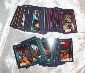 94 STAR TREK 1991 25TH ANNIVERSARY CARDS ~GREAT CONDITION