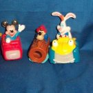 1995 DISNEYLAND ADVENTURES MCDONALDS TOYS & BOXES