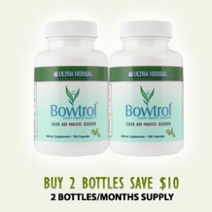 Bowtrol - NATURAL COLON CLEANSING (2 Bottle Trial - Save $10!)