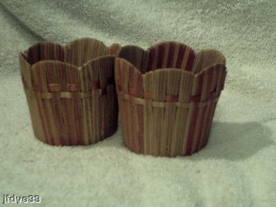 Two Small Flower Baskets