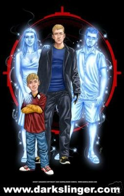 GHOST ASSASSIN FAMILY PHOTO POSTER DARKSLINGER COMICS