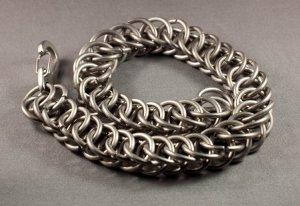 Titanium Chainmaille Bracelet Very Unique 14ga Grade 5 Ti 6Al-4V