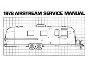 1978 Airstream Factory Service Manual