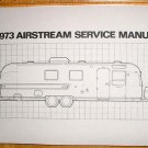 1973 Airstream  Factory Service Manual