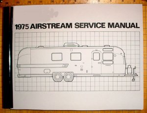 1975 Airstream Factory Service Manual